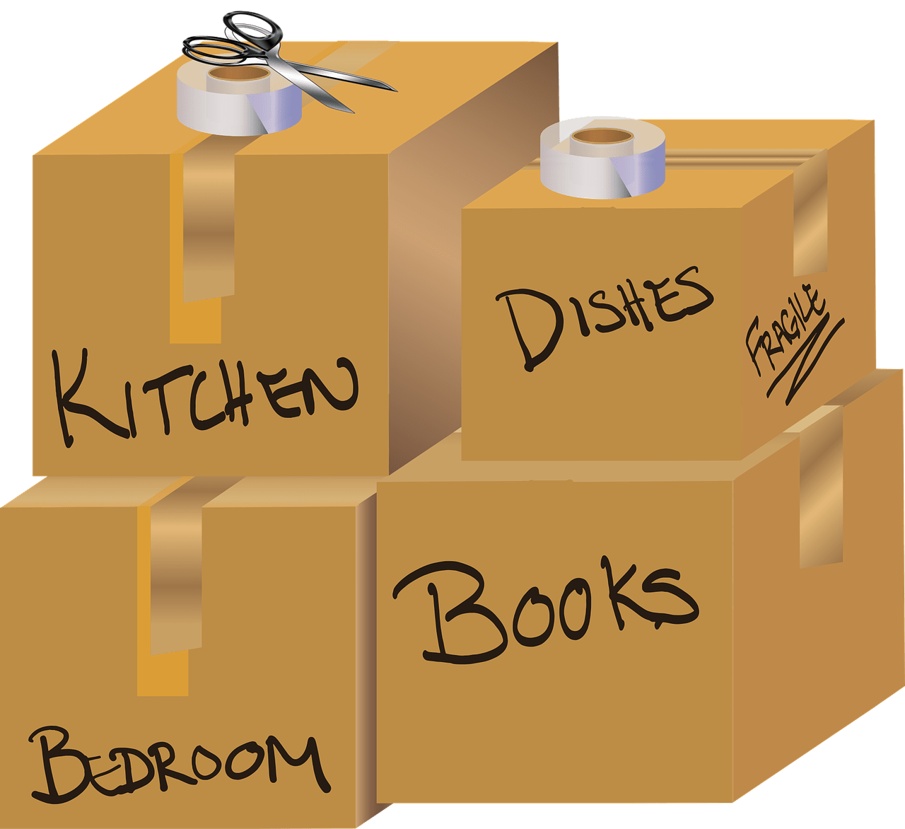 Find Out Who Your Friends Are: Moving Day Brings Out the Truth